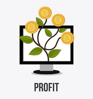 Profit business design.