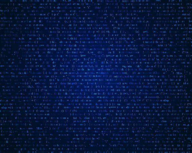 Programmiercode hintergrund