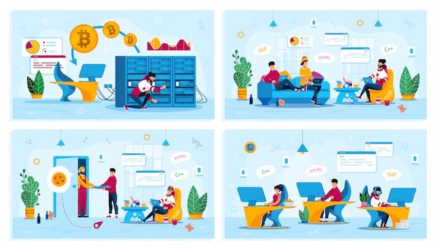 Programmierer arbeit und freizeit konzepte festgelegt