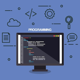 Programmiersprachen setzen icons