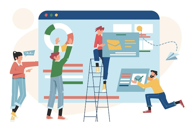Projektmanagement, geschäftskommunikation, dokumentenmanagement und beratung