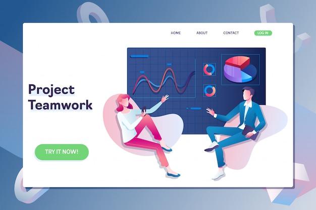 Projektmanagement- und finanzberichtstrategie