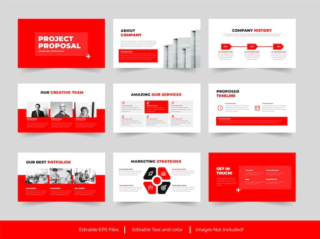 Projektvorschlag präsentationsdesign