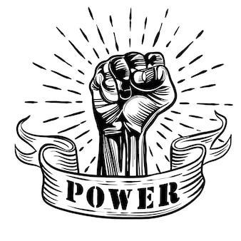 Proletarisches protestsymbol
