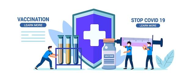 Protest gegen impfung impfverweigerung impfpflicht impfzögerung kein impfkonzept