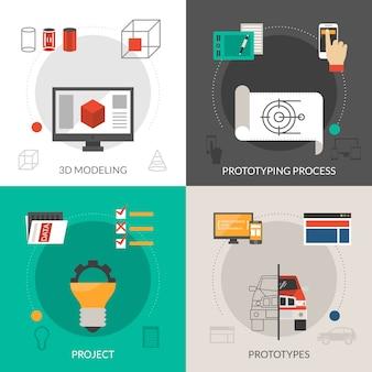 Prototyping- und modellierungsset