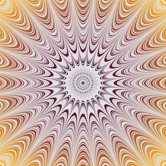Psychedelisch realistische tapete