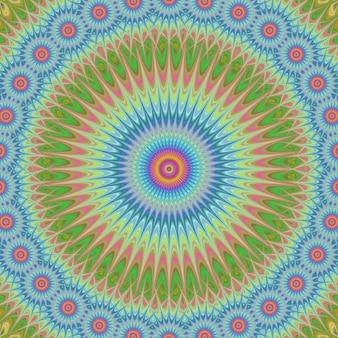 Psychedelische circular hintergrund