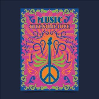 Psychedelische musikcover