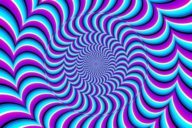 Psychedelische optische täuschung