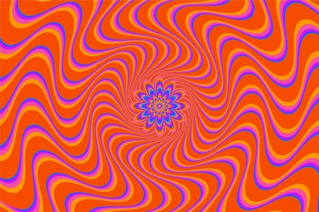 Psychedelischer grooviger hintergrund