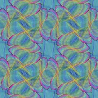 Psychedelischer hintergrund mit abstrakten formen