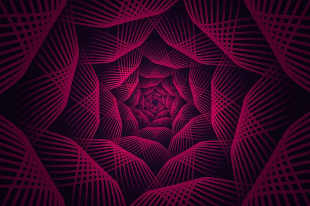 Psychedelischer optischer täuschungshintergrund