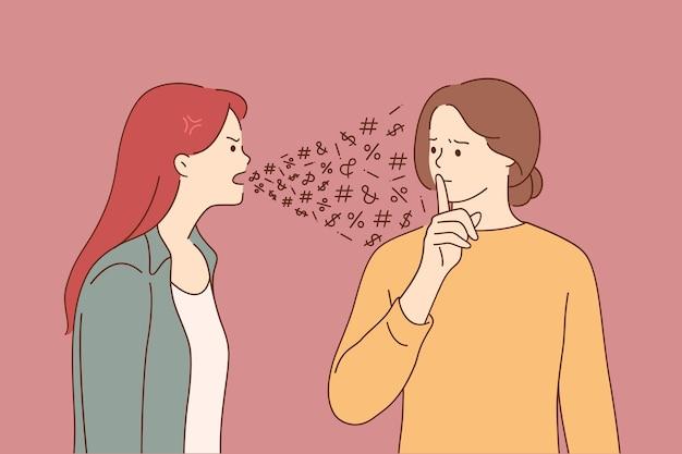 Psychische probleme, störungen, gespaltenes persönlichkeitskonzept