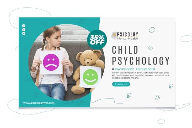 Psychologie banner vorlage
