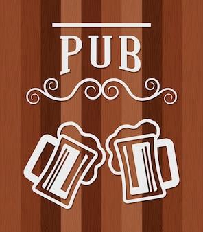 Pub bier und alkohol