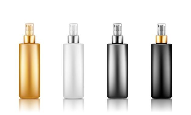 Pump plastikverpackung flasche serum set