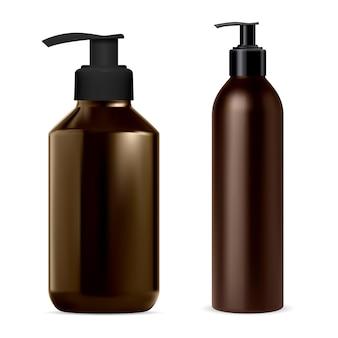 Pumpspenderflasche für kosmetikbehälterillustration