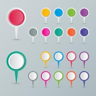 Punkte position farben für karten