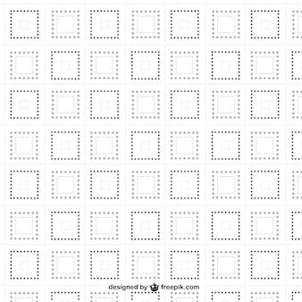 Punktierten quadraten nahtlose muster