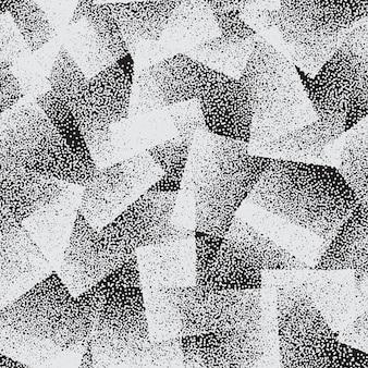 Punktiertes mode-abstraktes nahtloses muster für textil