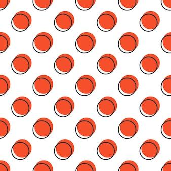 Punktmuster, abstrakter geometrischer hintergrund im retro-stil der 80er, 90er jahre. bunte geometrische illustration