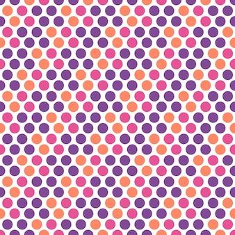Punktmuster, geometrischer einfacher hintergrund. elegante und luxuriöse stilillustration