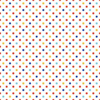 Punktmuster. geometrischer einfacher hintergrund. kreative und elegante stilillustration