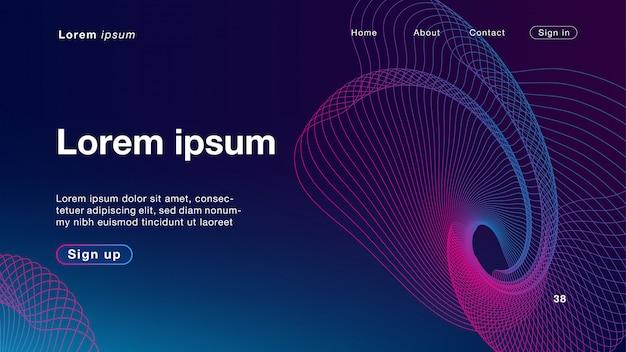 Purpurrote farbe des hintergrundes, die licht für homepage mischt
