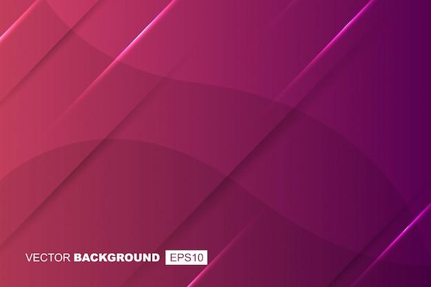 Purpurrote geometrische moderne flüssige hintergrund-zusammensetzung mit steigungen, schatten und lichtern