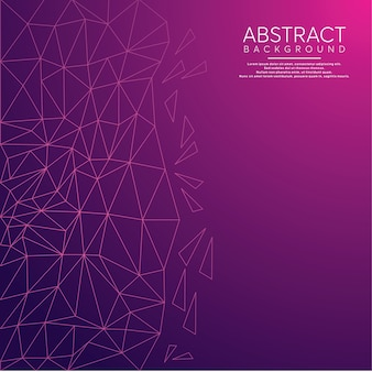 Purpurroter abstrakter niedriger polyhintergrund