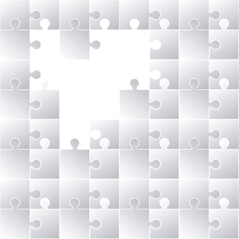 Puzzle-konzept-design