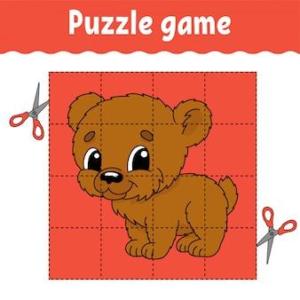 Puzzle-spiel für kinder