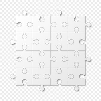 Puzzle-stück geschäftspräsentation