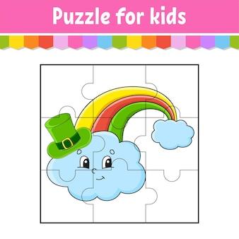 Puzzlespiel für kinder.
