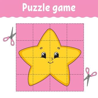 Puzzlespiel für kinder