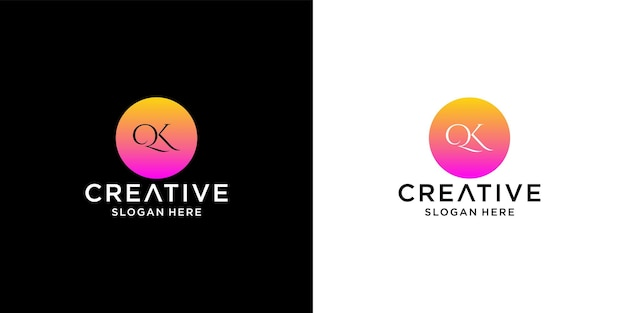 Qk-logo-design
