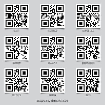Qr code-set