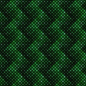Quadratischer grüner musterhintergrund
