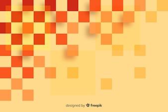 Quadratischer Hintergrund