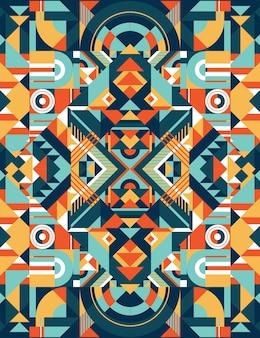 Quadratisches farbmuster