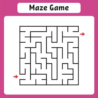 Quadratisches labyrinth.