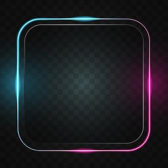 Quadratisches linienlicht