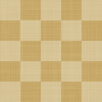 Quadratisches muster auf textil, abstrakter geometrischer hintergrund. kreative und luxuriöse illustration