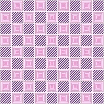 Quadratisches muster. geometrischer abstrakter hintergrund. kreative und elegante stilillustration