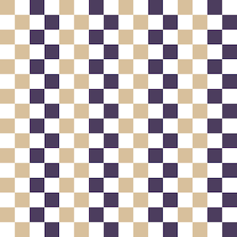 Quadratisches muster. geometrischer einfacher hintergrund. kreative und elegante stilillustration