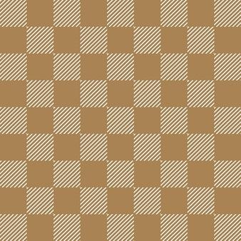 Quadratisches streifenmuster. geometrischer einfacher hintergrund. kreative und elegante stilillustration