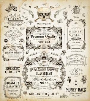 Qualität jahrgang zertifikat muster klassisch