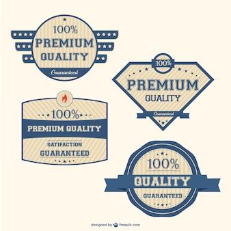 Qualitätsaufkleber design