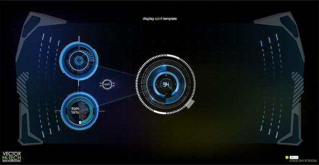 Quantencomputer-illustration